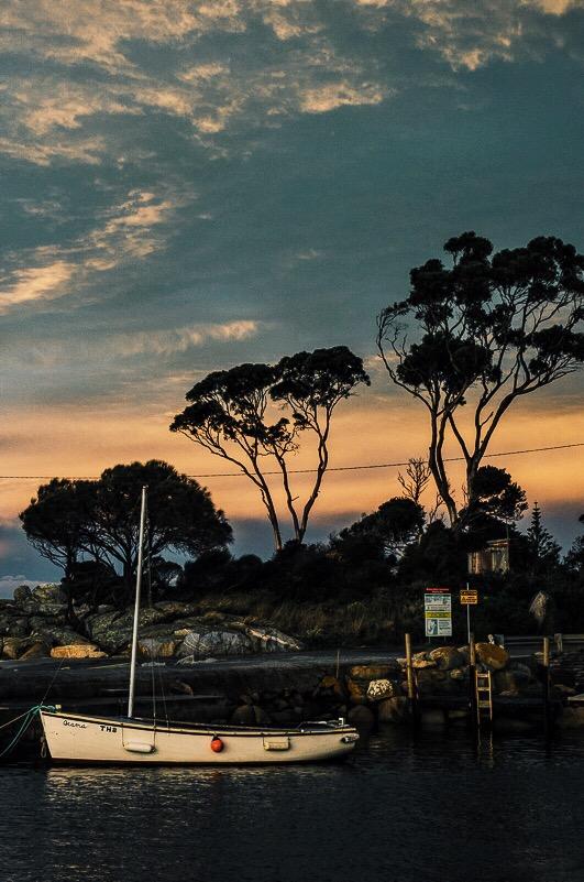 tasmania, explore, binalong bay, bay of fires
