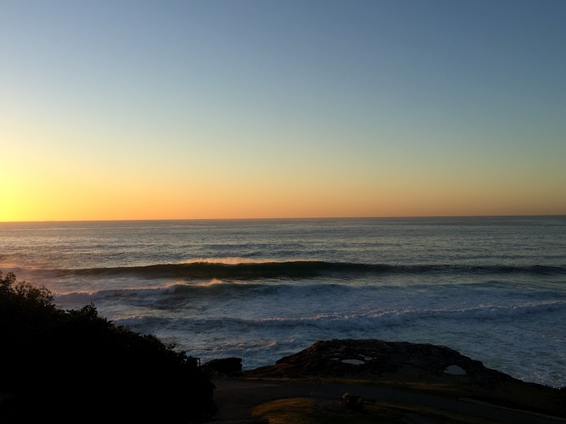 Mackenzies, Bay, Surfing, Waves, Sydney, Eastern Suburbs, Dawn, Sunrise