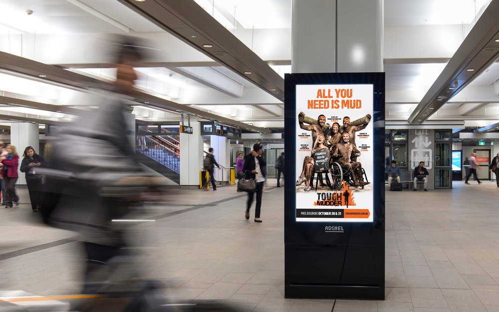 Tough Mudder Campaign Artwork