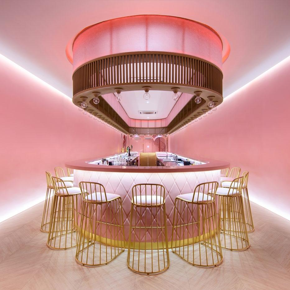 Golden Shower chinchin Interior Design by NEVERMORE