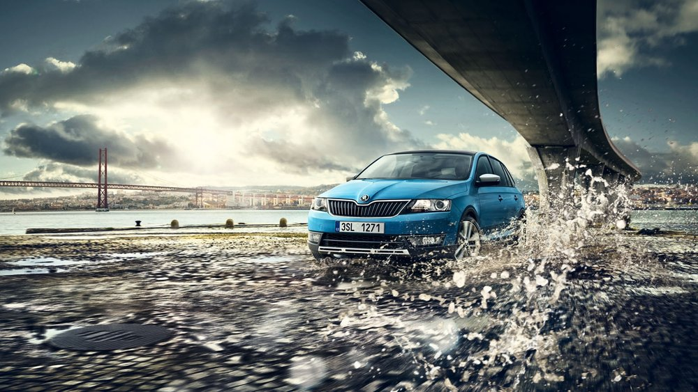Skoda - photographer: Andreas Hempelrepresented by: Kelly Kellerhoffagency: Fallon Prague