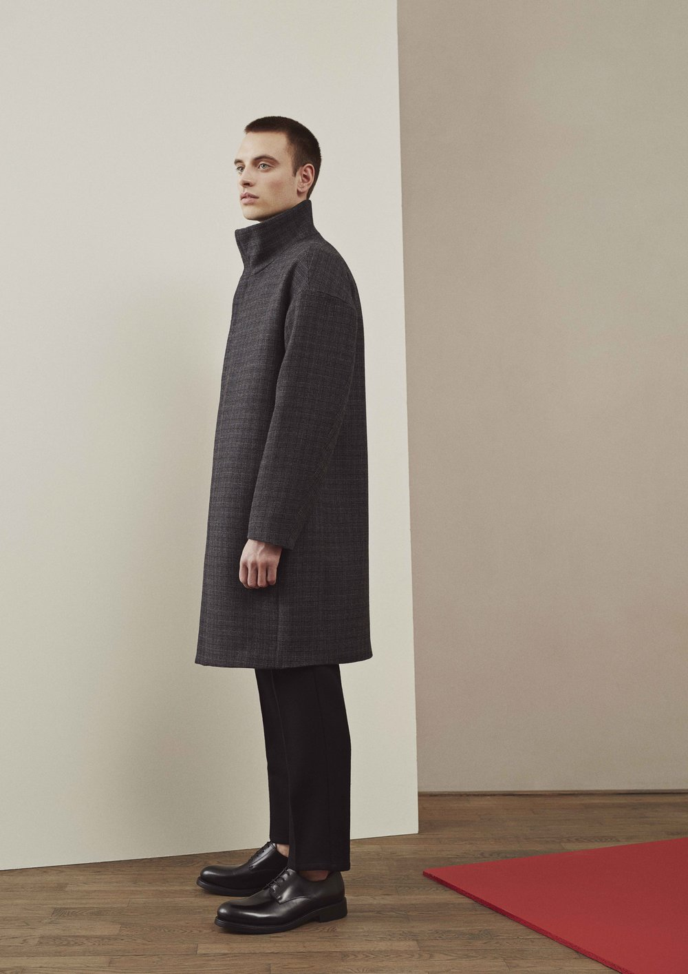 <b>12</b><br>Charlie Wool Coat<br>Felix Highland Wool Pants