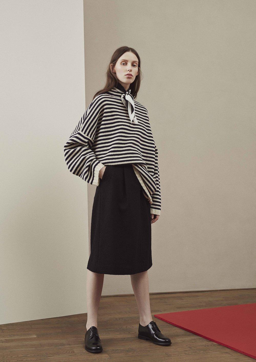 <b>7</b><br>Irene Shetland Wool Sweater<br>Helena Corduroy Pants