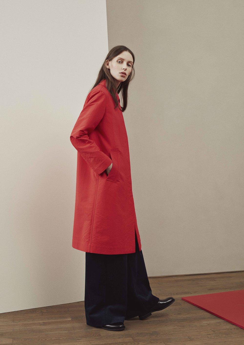 <b>11</b><br>Adina Nylon Coat<br>Helena Corduroy Pants