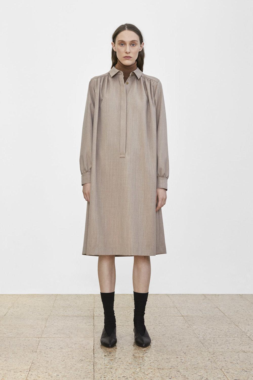 <b>7</b><br>Tatum Wool Turtleneck<br>Tessa Wool Melange Dress