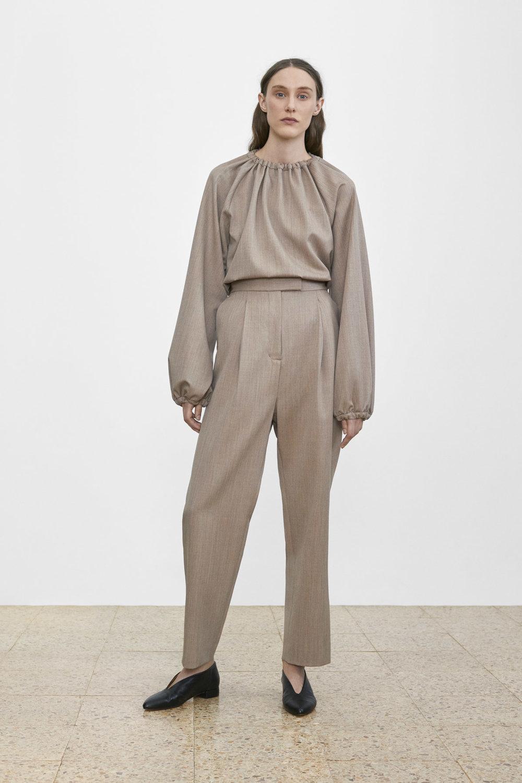 <b>8</b><br>Jada Wool Melange Blouse<br>Talia Wool Melange Pants