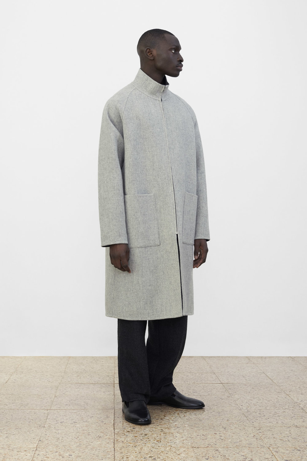 <b>7</b><br>Rupert Reversible Coat<br>Hakon Checked Wool Pants