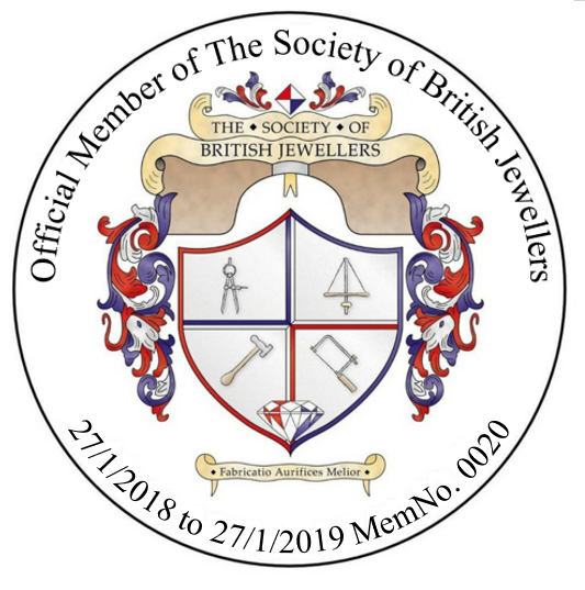 William Hawkes is an Official Member of the Society of british Jewellers
