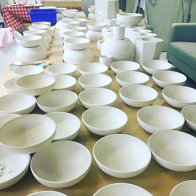 #ceramics# handmade #production #sempé #serielimitée #raoulTaburin #the beginning...