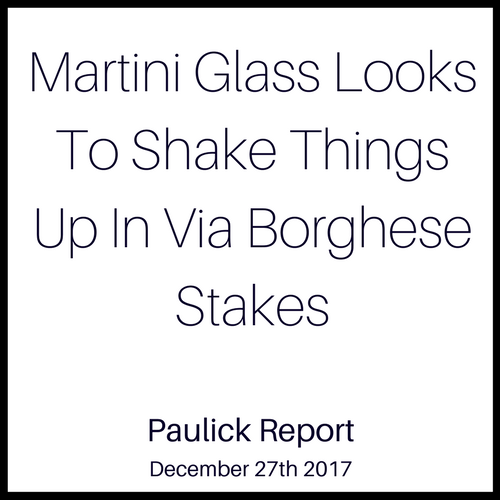 Martini Glass Looks To Shake Things Up In Via Borghese Stakes