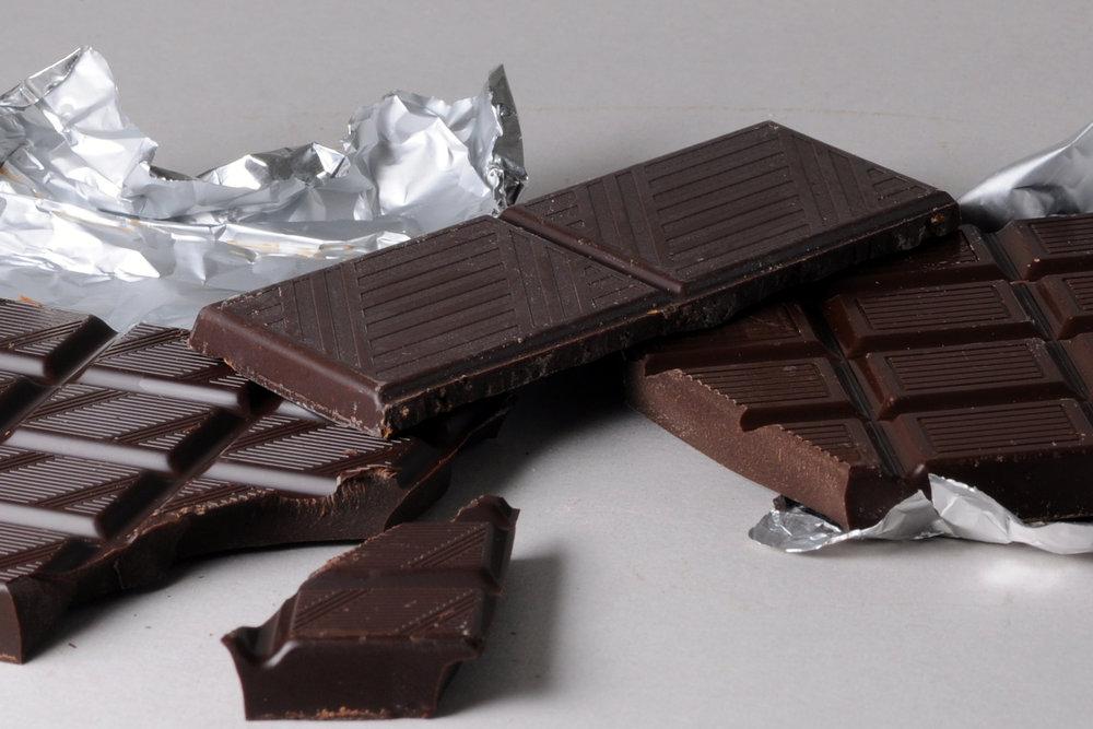 dark chocolate -