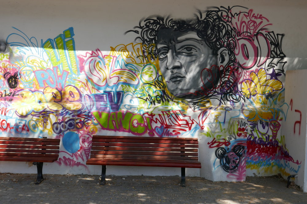 Tel Aviv street art - our favourite finds around the city -