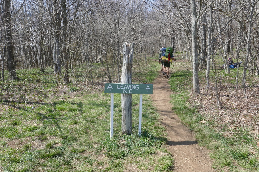 Appalachian Trail - Hot Springs to Roan Mountain