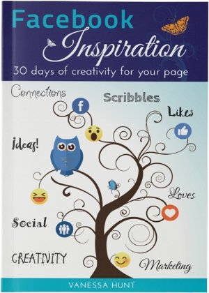 Book review   Facebook Inspiration: 30 Days of creativity for your page by Vanessa Hunt