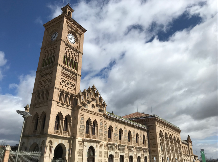 Toledo's train station