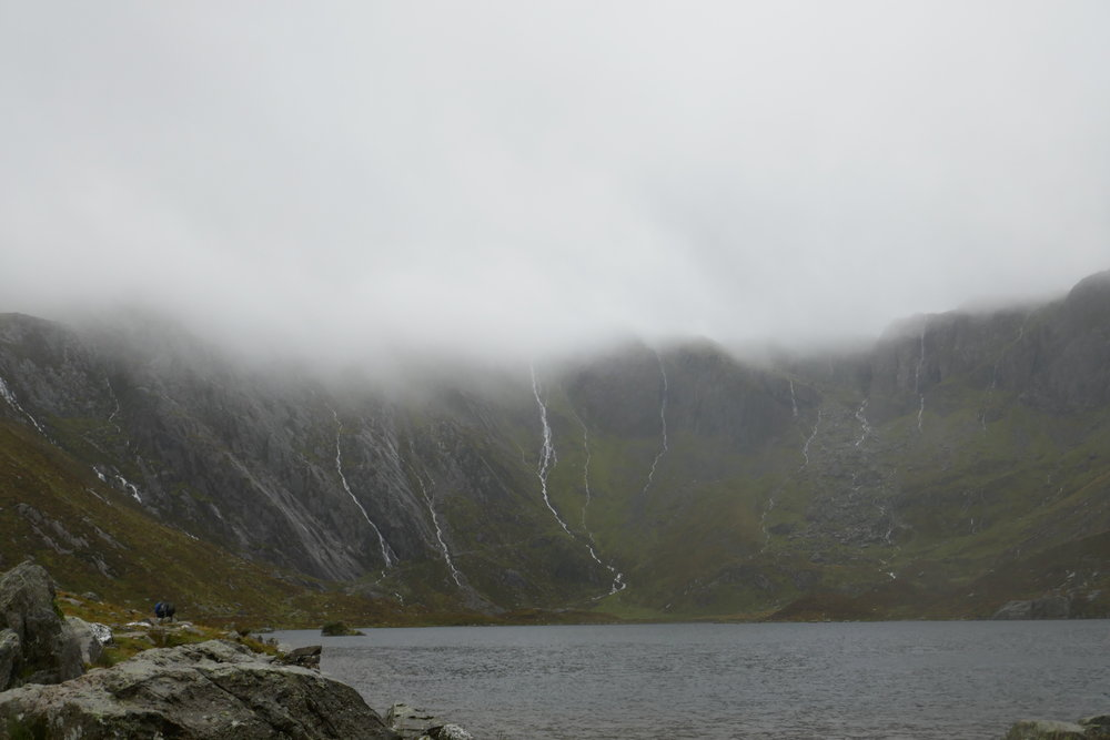 Tryfan's neighbouring lakes -