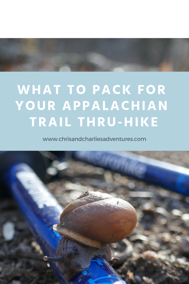 What to pack for the Appalachian Trail