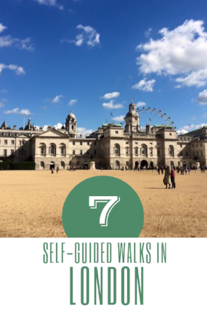 The best self-guided walks in London