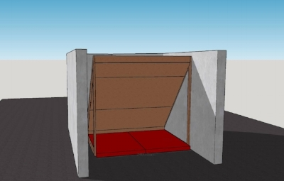 Planning a freestanding garage bouldering wall -