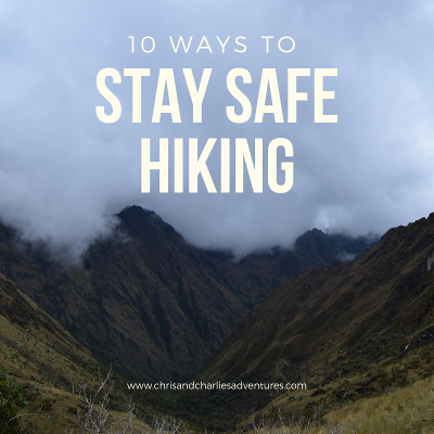 Important hiking safety tips