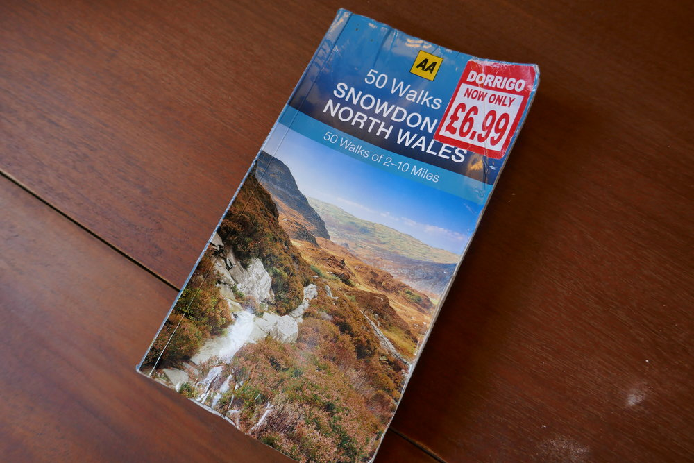 Book Review   AA - 50 Walks in Snowdonia and North Wales