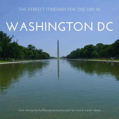 The perfect way to spend a day in Washington DC.