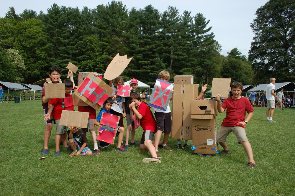Makers Lab cardboard creations.jpg