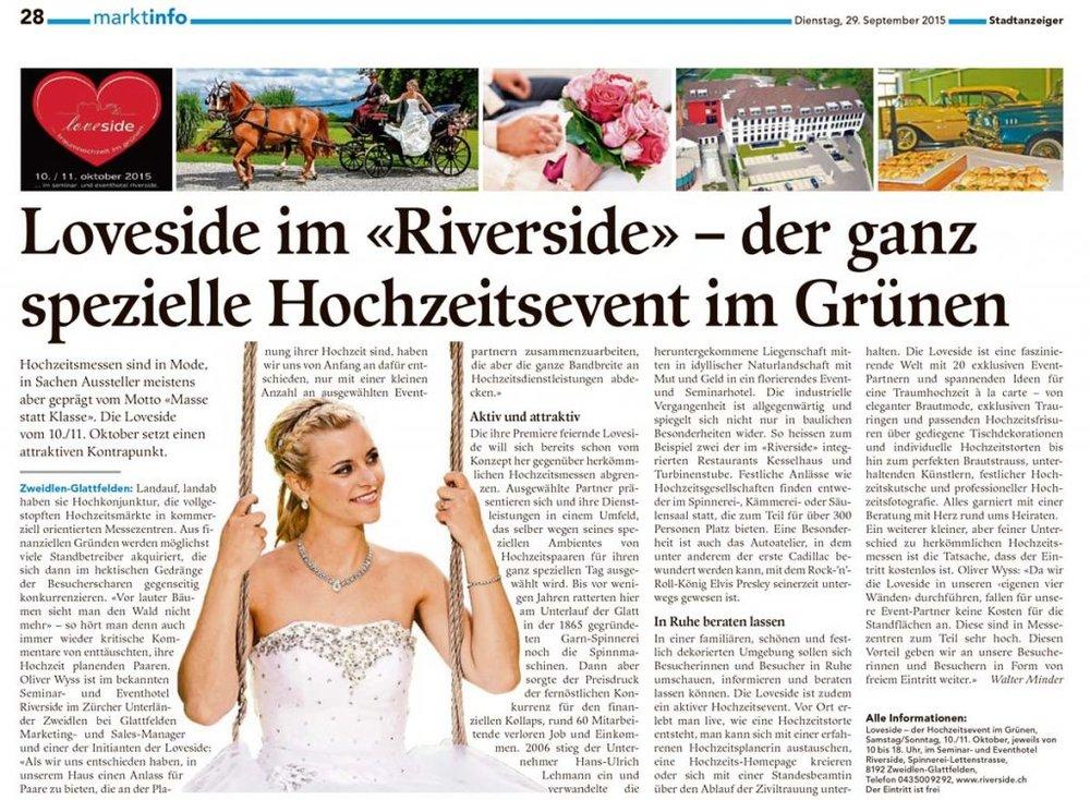 Winterthurer Stadtanzeiger - 29.11.15