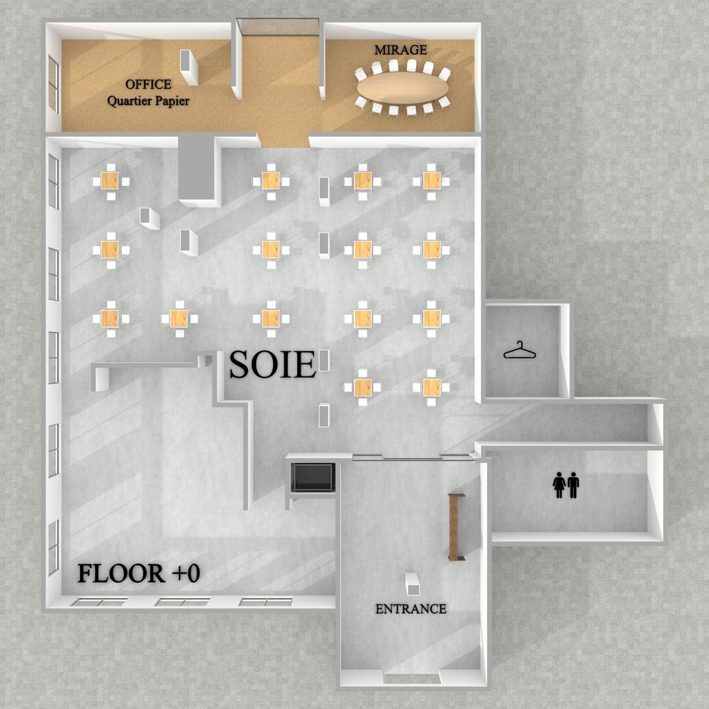 Soie - Reception - Floor +0