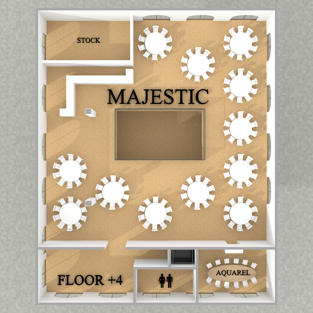Majestic - Dinner - Floor +4