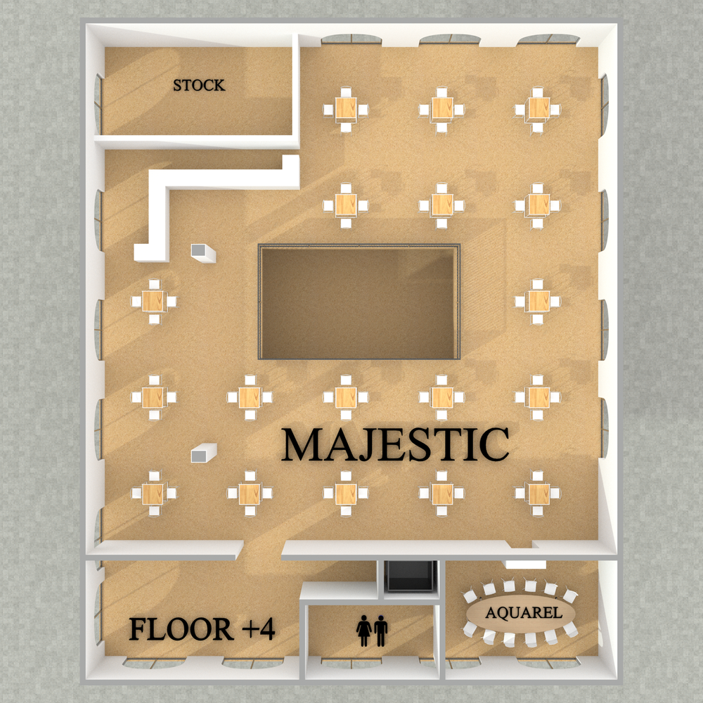 Majestic - Reception - Floor +4