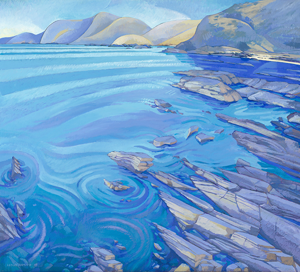 Fan Bay Second Valley by Lesley Redgate