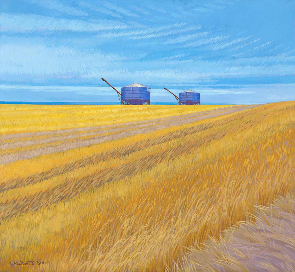 Wheatbin Salute by Lesley Redgate