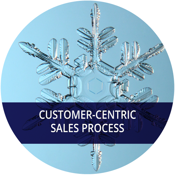 Understand the world from your customer's perspective to delight them at each step of the sales process and create a long term relationship. -