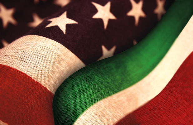 Italy America flags.png