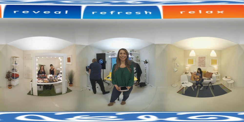 GE Lighting VR Live Stream