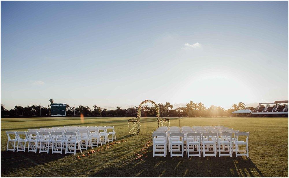 International Polo Club Palm Beach Wedding