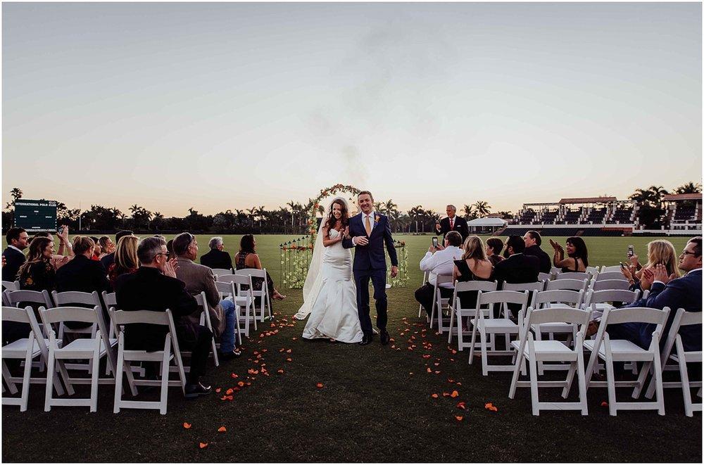 Groom Bride Just Married