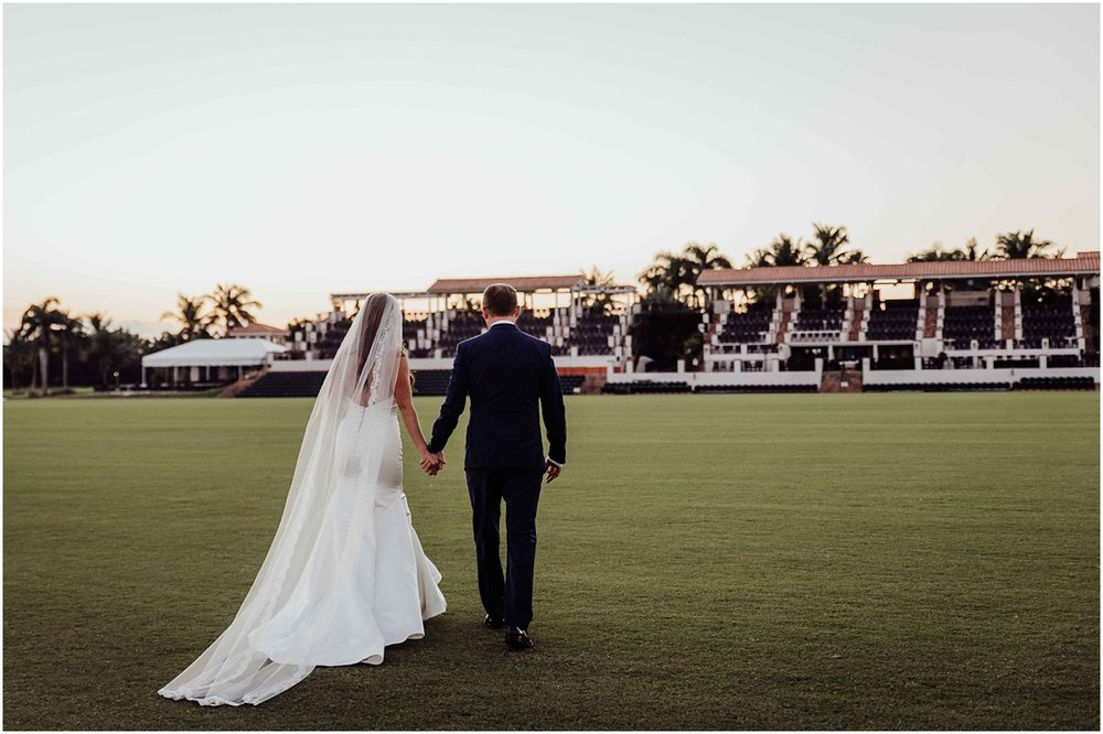 International Polo Club bride groom