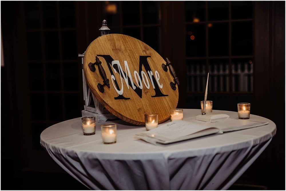 international polo club wedding reception decor