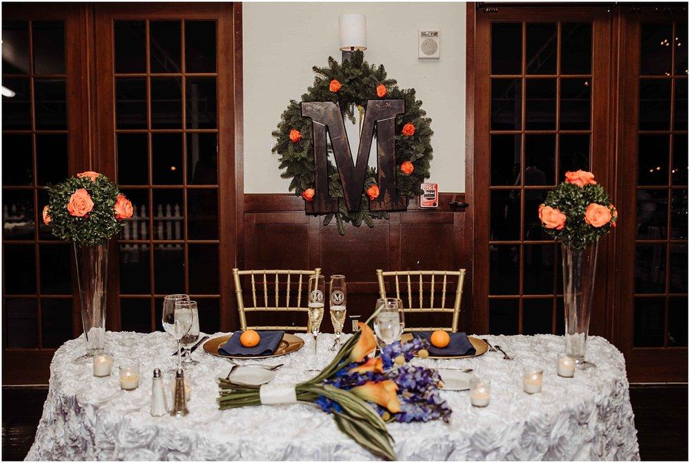 international polo club bride groom table reception wedding photography