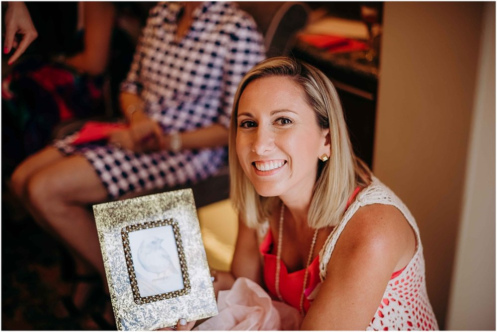 Lilly Pulitzer Bridal shower gift winner picture frame