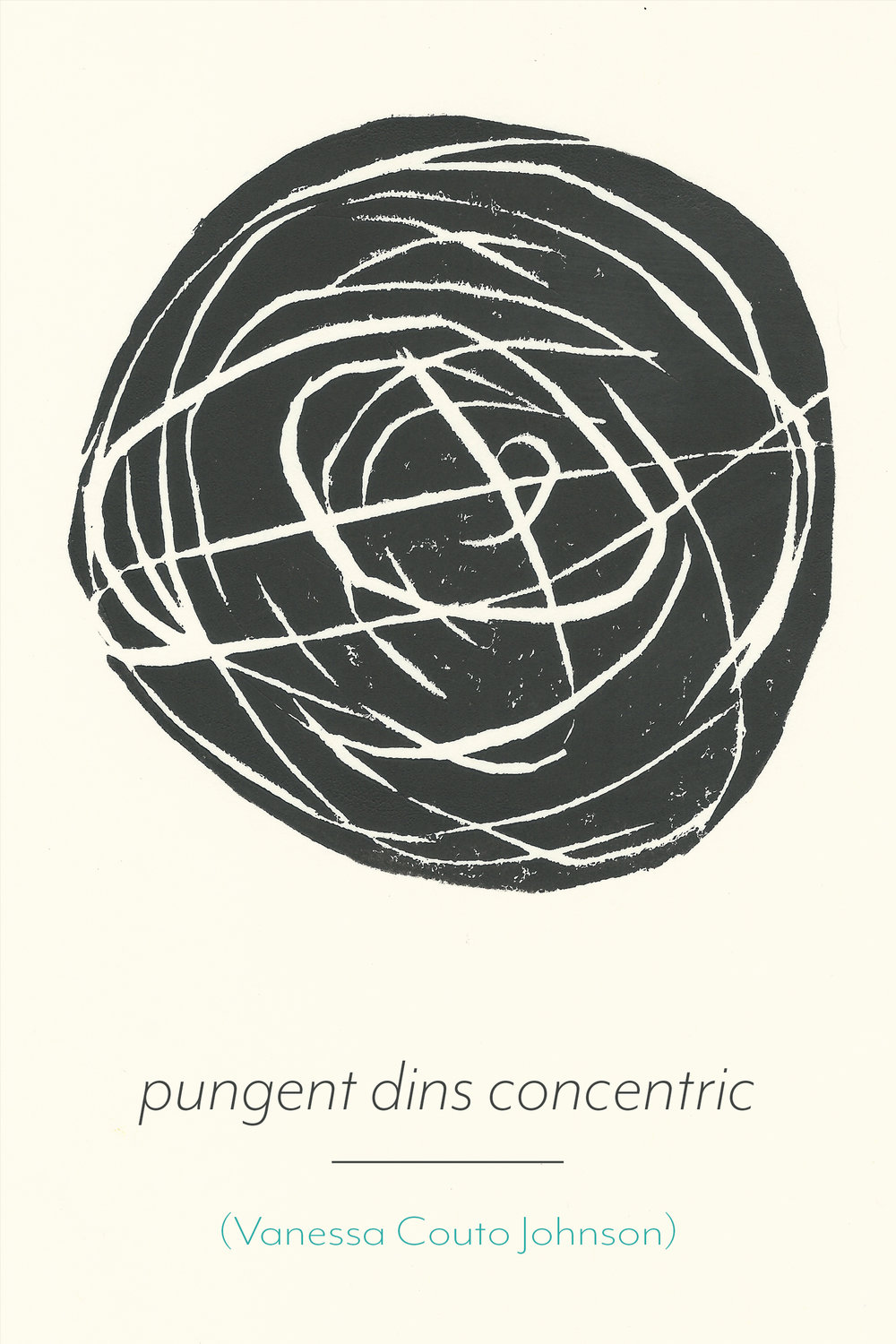pungent dins concentric poetry by Vanessa Couto Johnson - Release Date December 4th