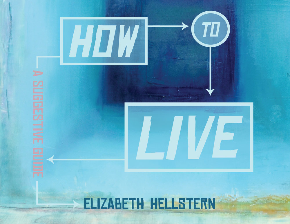 How To Live: A Suggestive Guide visual poetry by Elizabeth Hellstern - February 19th, 2019This collection of experimental poems acts as an alternative How-To Book, told with graphic flow charts and coupled with poetic language and philosophy. Both insightful and formally inventive, the pieces offer the readers a sense of agency as they choose their own way through complex activities such as