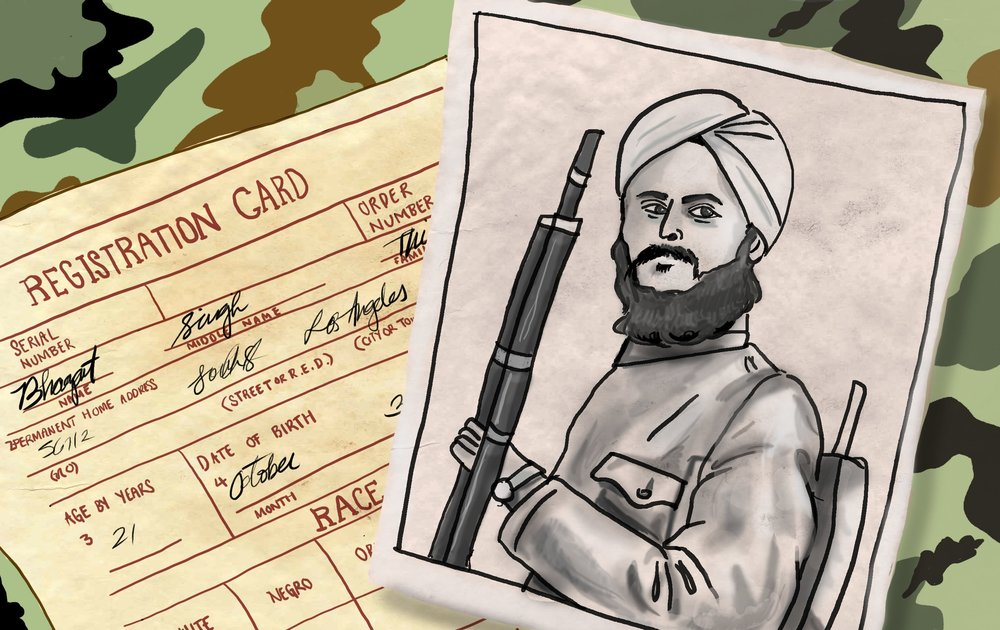 """Discovering the Unknown: World War I's South Asian Soldiers in the US Military,"" The Aerogram"
