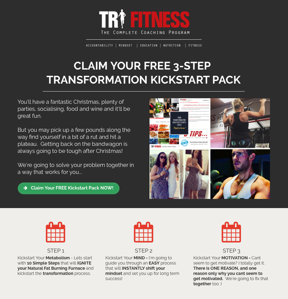 START YOUR TRANSFORMATION WITH TRI FITNESS TODAY