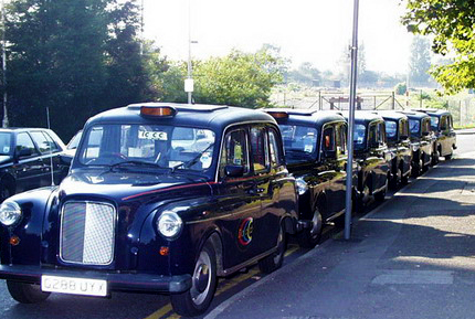 The Original Taxi Treasure Hunt Cabs Await the Teams