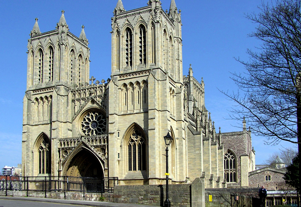 Bristol Cathedral, Treasure Hunts Locations in South West UK