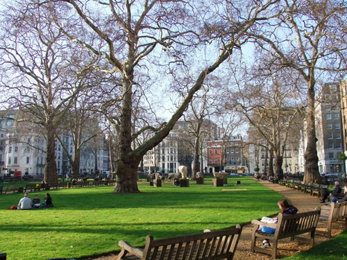 Berkeley Square, Mayfair Treasure Hunts