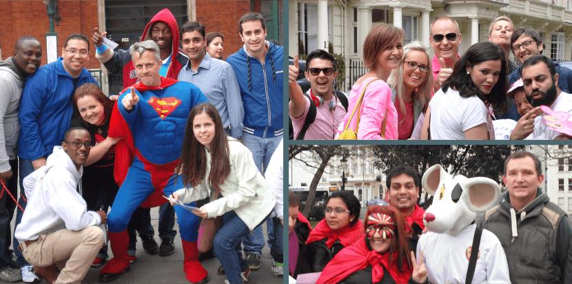Superhero Adventure treasure hunt photos